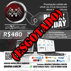 Loja Virtual BLACK FRIDAY